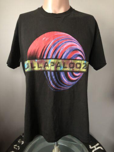 Vintage Lollapalooza 1996 T-Shirt L 90's Metallica