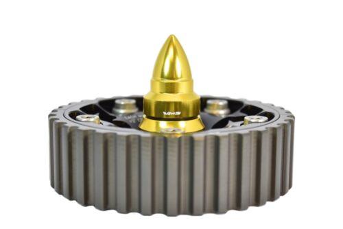 VMS RACING CAM GEAR BOLT W// BULLET GOLD FOR 88-00 HONDA CIVIC SOHC D15 D16