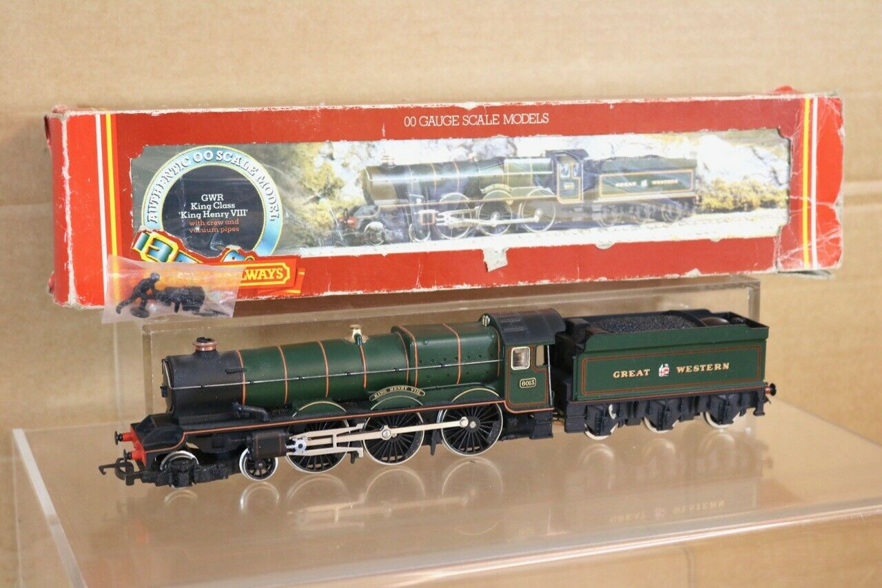 HORNBY R349 GW GWR 4-6-0 KING CLASS LOCO 6013 KING HENRY VIII BOXED ns