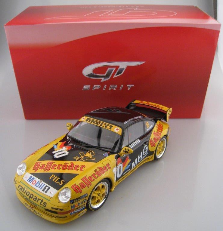 Porsche 911 (type 993) Supercup limitée 1.000 pièces GT SPIRIT 1 18