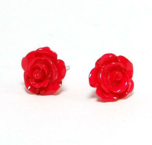 The Olivia Collection oler las rosas rojo rosa Aretes