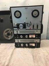 AKAI M8 REEL TO REEL CROSS FIELD TAPE RECORDER POWERS UP NICE CLEAN UNIT