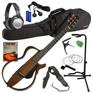 Musical Instruments & Gear Guitars & Basses Intelligent Yamaha Silent Guitar Slg200s Natural Finish