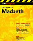 Shakespeare's Macbeth by Cliffs Notes Staff and William Shakespeare (2000, Paperback)