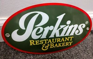 Perkins Restaurant Fast Food Sign