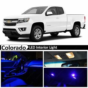Image Is Loading 15x Blue Led Light Interior Package Kit For
