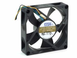 Avc-DA08020B12U-Computer-Case-CPU-Ventola-Alloggiamento-80x80x20mm-4-Wire-Nr