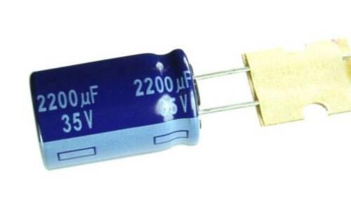 2200UF 20/% 35V RADIAL Electrolytic Aluminum Capacitors Leaded 40mm X 16mm 5