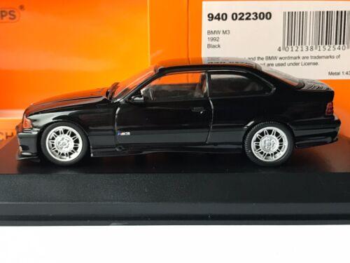 Minichamps 940 022300 BMW M3 E36 1992-2000 Cosmosschwarz Cosmos Black 1:43