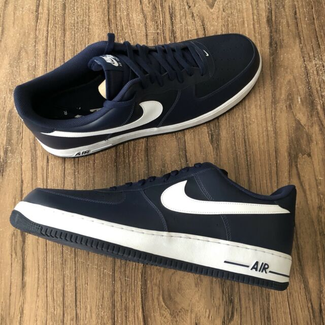 Nike Air Force 1 Midnight Navy 488298 436 Men's Size 18 NEW
