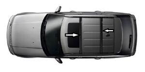 BARRE-TRASVERSALI-NERE-CON-CHIAVI-PORTAPACCHI-TETTO-Range-Rover-Sport-2005-2012