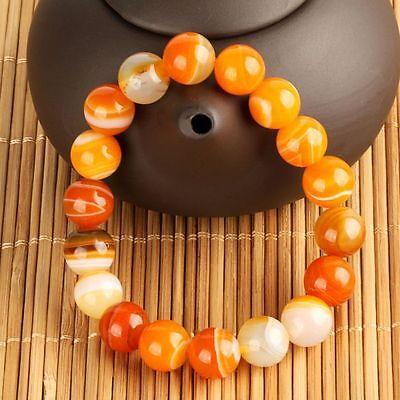 2015 Fashion Summer Unisex 10mm Round 100% natural stone Bracelet Gift