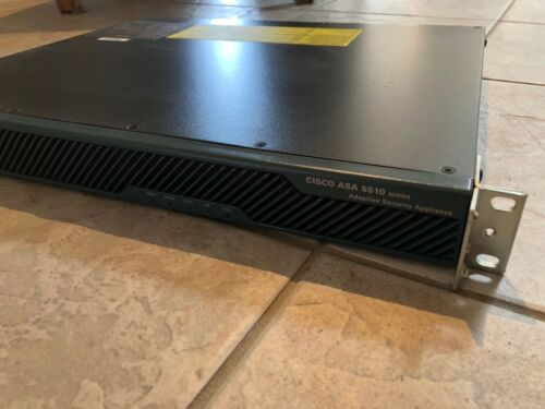 CISCO ASA 5510 Firewall With Rack Mounts