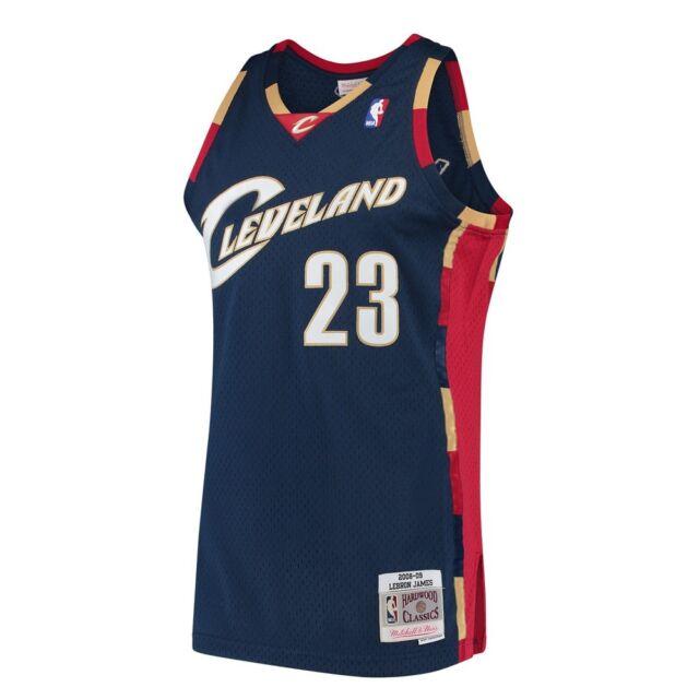 bbef3ed46bb LeBron James 2008-09 Cleveland Cavaliers Mitchell   Ness Alt Swingman Jersey
