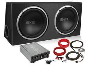 belva bpkg212v2 1200w complete bass pack dual 12 subs in ported box rh ebay com