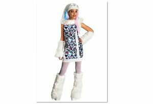 Monster-High-Abbey-Bominable-Girls-Costume-Size-4-6-Halloween-Outfit-NEW