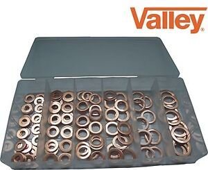 110pc Copper Washer Kit