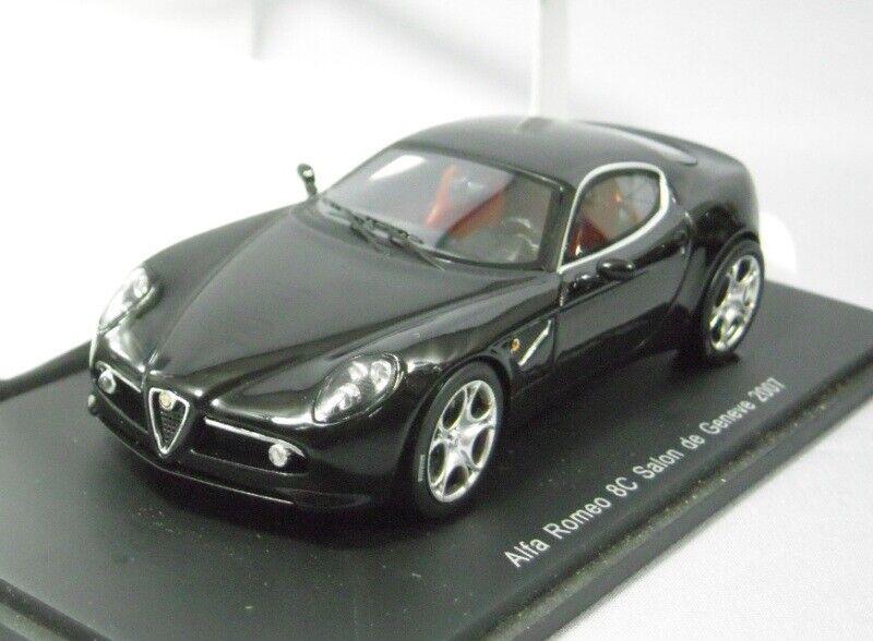 Spark 1:43 Alfa Romeo 8C Geneva Show 2007 from Japan