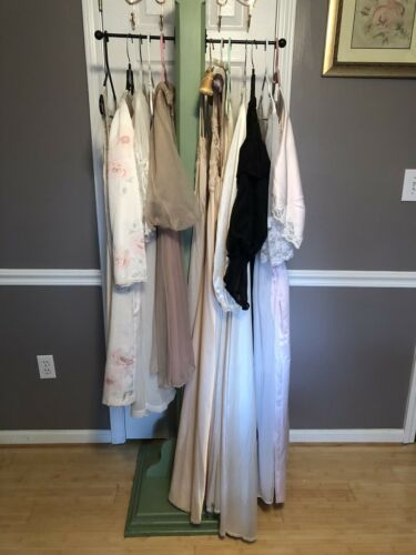 Vintage 15 Pc Lot Nightgowns Etc.~Sheer/Satin/Lace