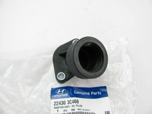 NEW GENUINE  Engine Oil Filler Adapter Pipe OEM For Hyundai  V6  224303C460