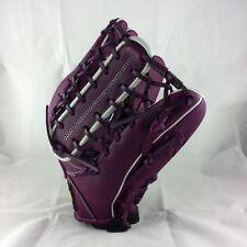 "ZETT Special Order Purple 13"" Leather Righ Hand Throw Outfielder Baseball Glove"