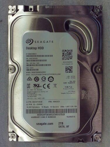 "1 of 1 - Seagate | Barracuda | ST2000DM001 | Hard Disk Drive | 3.5"" | 2000GB 2TB"