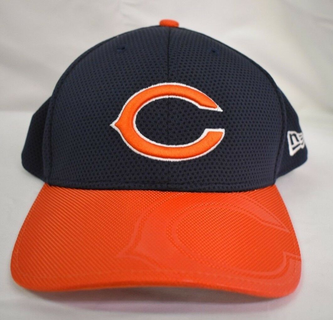 best sneakers 6f975 6d05a ... 2017 sideline official 39thirty flex hat navy c7b39 10a9b  best new hat  era 39thirty nfl mens chicago bears on field sideline hat new cap nwt