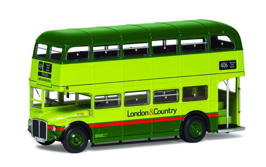 Routemaster Aec Type Rm London & Country Route 406 Bus 1 76 Model CORGI