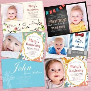 Details About Professionally Made Personalised Godparent Invitations Card Christening