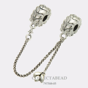 119be47666aa2 Details about Authentic Pandora Sterling Silver Grains of Energy Safety  Chain 797588-05