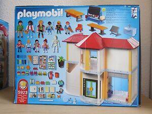 Playmobil 5923 Jeu De Construction Ecole Avec 3 Salles De Classe