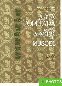 Romanian Folk Costumes Architecture Ceramic Furniture from Arges and Muscel 1967