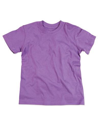 Organic Bambini Girocollo T-shirt in cotone bio 122,128,134,140,146,152,158,16