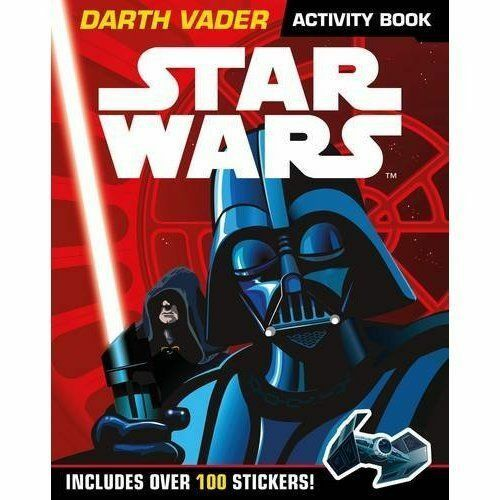 1 of 1 - New Star Wars: Darth Vader Activity Book With Stickers (Star Wars Activity Book)