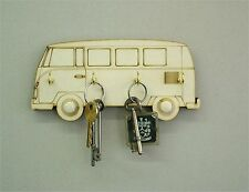 Campervan Key Holder Key Hanger Volkswagon, 4 Key Hooks, Wedding / Birthday c9