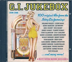 COFFRET-5-CDS-COMPIL-100-TITRES-G-I-JUKEBOX-1936-1946-WALLER-CROSBY-BASIE-KIRK