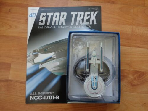 STAR TREK EAGLEMOSS STARSHIPS COLLECTION #40 USS ENTERPRISE NCC-1701-B SHIP