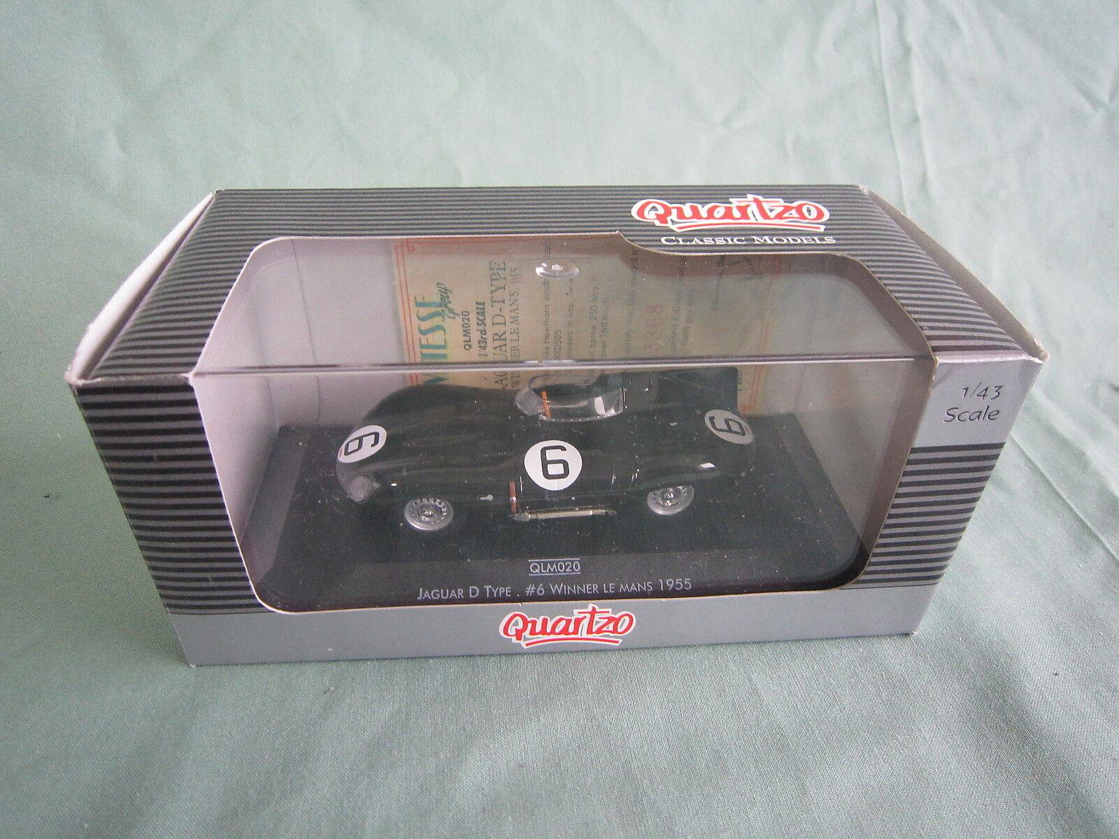 Dv4762 quartzo vitesse jaguar d - gewinner 1955 le - mans - sammlung   6 qlm020 1   43