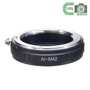 AI-M42-Macro-Nikon-AI-AI-S-F-Lens-to-M42-Screw-Mount-Adapter-Zeiss-Pentax-Mamiya