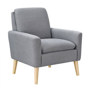 Modern-Living-Room-Accent-Arm-Chair-Linen-Fabric-Upholstered-Chair-Furniture-USA
