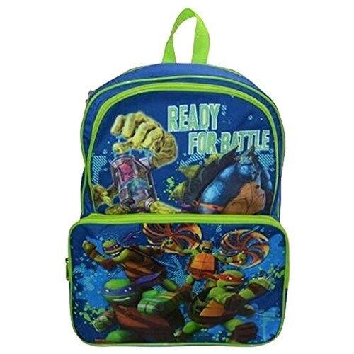 Age Mutant Ninja Turtles School Backpack 16 Boys Bookbag Tmnt Ready Fun Ebay