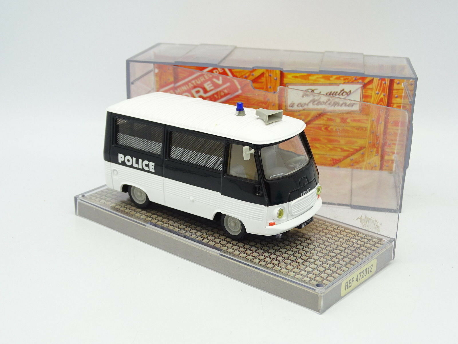 Norev 1 43 - Peugeot J7 Police