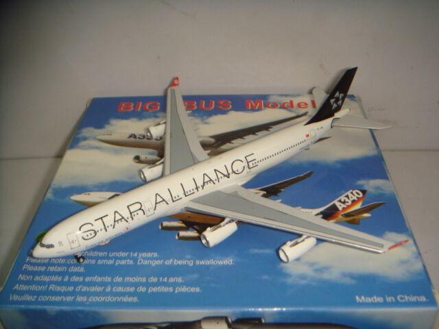 Aeroclassics 400 Turkish Airlines demain Kings  A340-300  Star alliance couleur  1 400  qualité officielle
