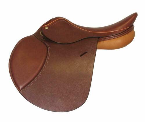 "HDR HENRI DE RIVEL CLOSE CONTACT ENGLISH HORSE SADDLE PACKAGE 15/""M 16.5/""M 16.5W"