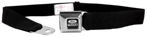 Seatbelt Men Canvas Web Military Ford Trucks F-150 Raptor SVT F-250 F-350 Black