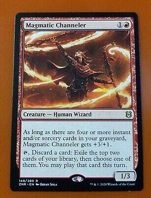 Magmatic Channeler 148//280 rare zendikar rising