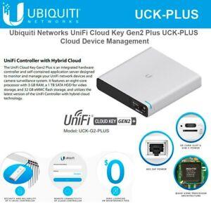 Details about Ubiquiti - UCK-G2-PLUS Unifi Cloud Key Gen2 Cloud Device  Management