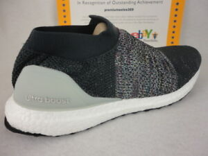 Adidas Ultraboost Laceless Carbon Solid Grey Ash Silver Cm8267
