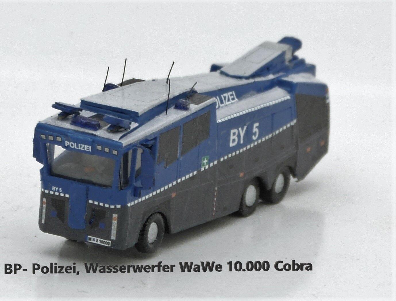 High Miniatures Track N 1 160 BP-Police, water cannon WAWE 10 Cobra