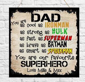 Personalised-Plaque-Daddy-Dad-Uncle-Stepdad-Grandad-Brother-Superhero-Gift